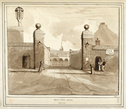 Dockyward Gates, Deptford